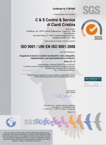 Certificazione dei controlli non distruttivi